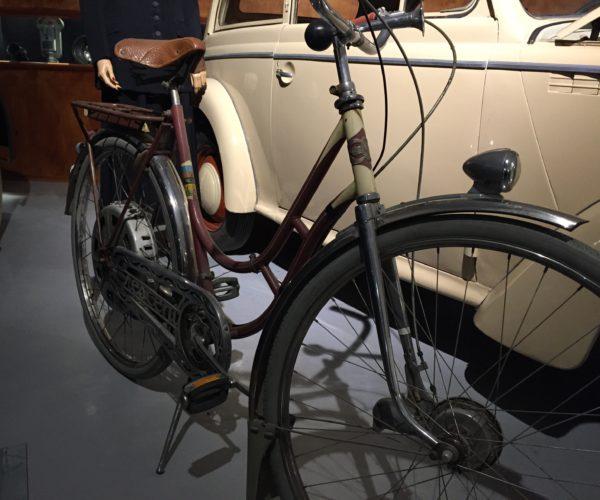 Motorisert sykkel. Z museum.